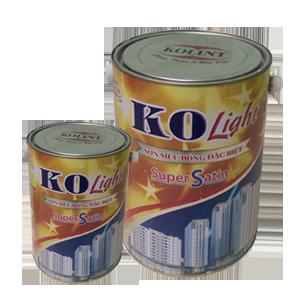 Sơn Siêu Bóng Ngoại Thất Đặc Biệt - KOLIGHT SUPER SATIN